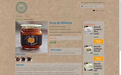 Casal Hortelao online store screenshot