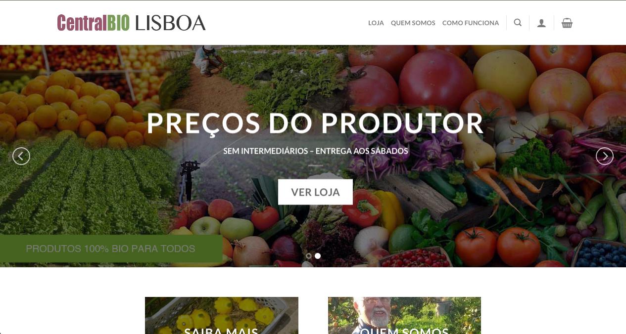 CentralBio home page