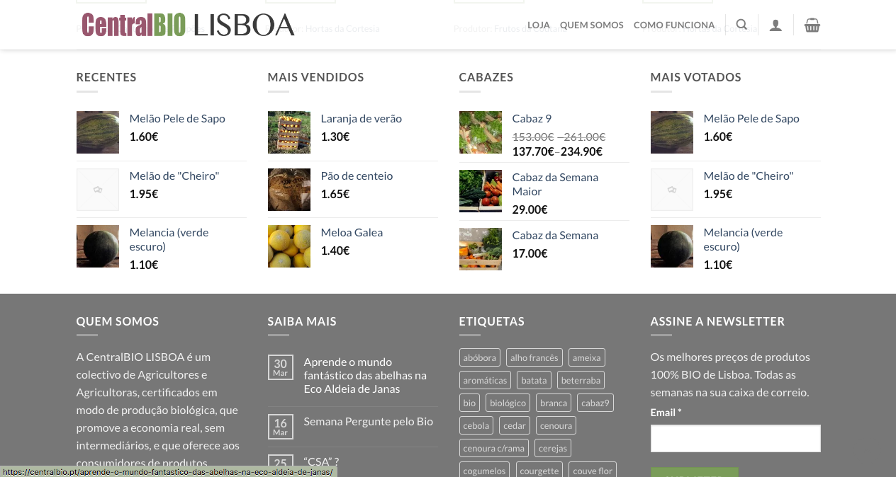 Centralbio footer