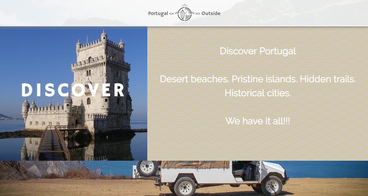 Portugaloutside home page